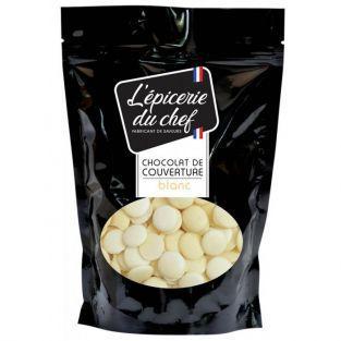 Palets de chocolat de couverture 1 kg - blanc