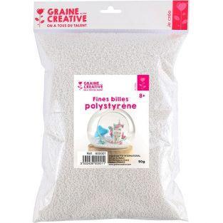 Polystyrene balls 50 g