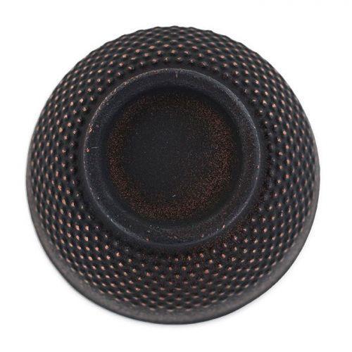 Taza de hierro fundido negro y bronce - 0,15 L
