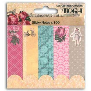 Sticky notes romantiques