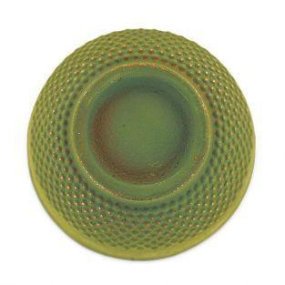 Tasse en fonte vert et bronze - 0,15 L