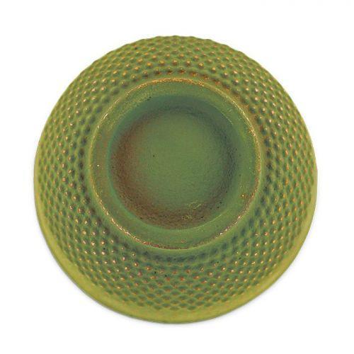 Taza de hierro fundido verde y bronce - 0,15 L
