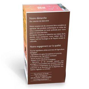 Tisane fraise et hibiscus biologique - 20 sachets