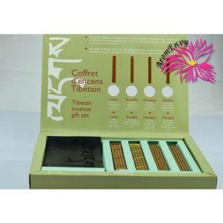 Tibetan incense discovery box