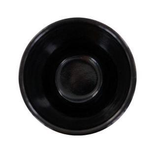 Black & gold cast iron incense holder bowl