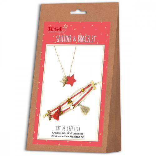 Kit de création de bijoux - bracelet et sautoir - Juicy