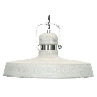 Lámpara suspensión de hormigón gris Ø 39 x 29 cm