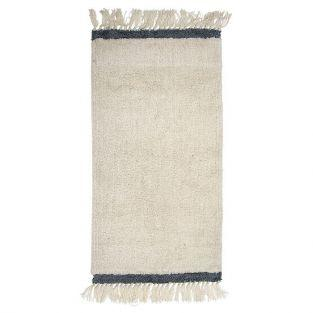 Tapis en laine Ecru 120 x 60 cm - Bloomingville