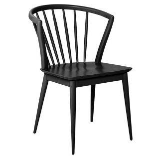 Bloomingville Rubberwood chair 54.5 x 60 cm - Black