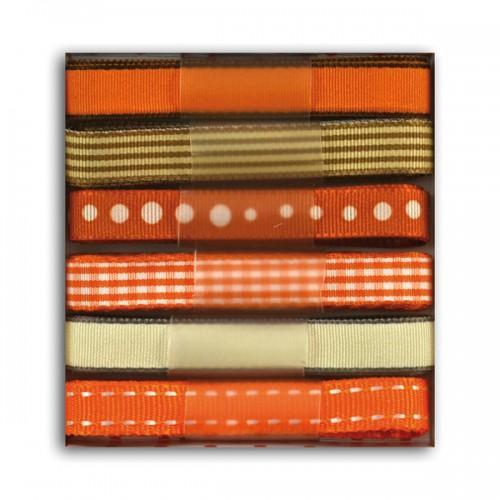 Vanilla & orange ribbons