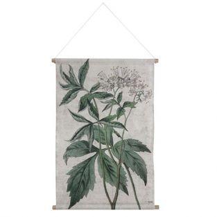 Tenture murale Botanique en coton H. 85 cm