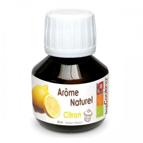 Arôme naturel citron 50 ml