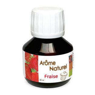 Arôme naturel fraise 50 ml