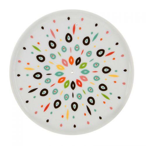Porcelain incense holder bowl - Samba