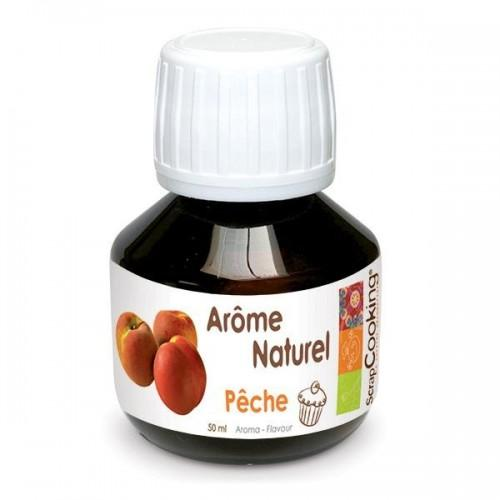 Natural peach flavor - 50 ml