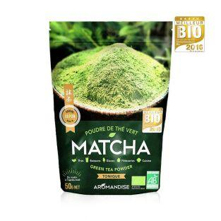 Thé vert bio Matcha en poudre - 50 g