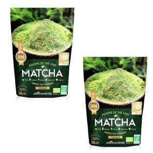 Thé vert bio Matcha en poudre 100 g