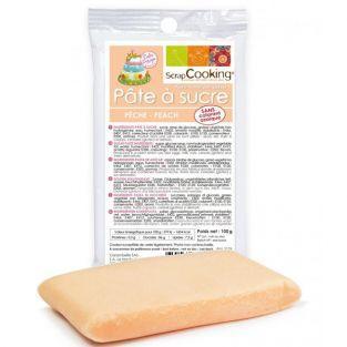 Peach sugarpaste - 100 g