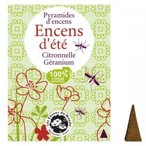 Pyramides d'encens anti-moustiques