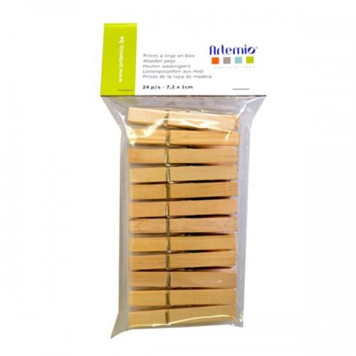 Classic Wooden clothespins