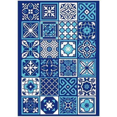 3 transferts pour pâte polymère - Azulejos