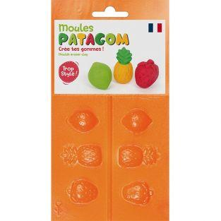 Eraser clay Moulds - Fruits