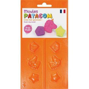 Moules pour gomme à modeler Patagom - Licorne