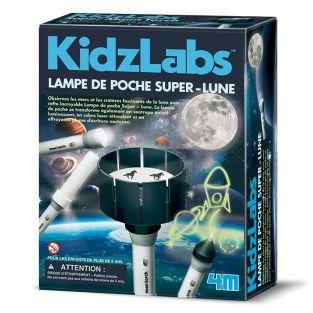 Coffret découverte de la science - Lampe de poche super lune
