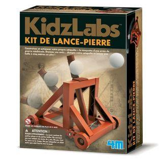Coffret découverte de la science - Catapulte à construire