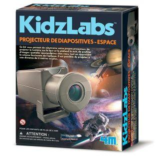 Science discovery box - Space slide projector
