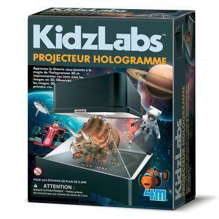 Juego educativo científico - Proyector de hologramas