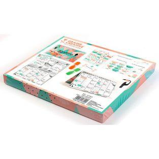 Desk planner set - Tropical