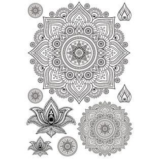 Iron-on A4 Transfers - Mandala