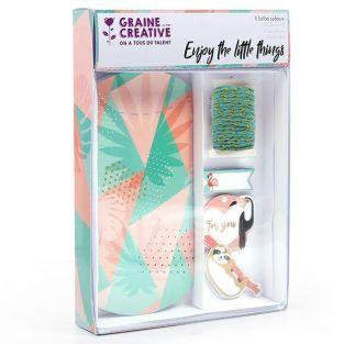 6 DIY gift boxes - Tropical