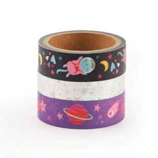 3 masking tapes - Galaxia