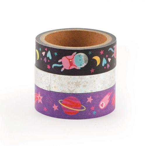 3 masking tapes - Galaxy