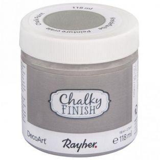 Pintura tiza Chalky Finish 118 ml - Gris claro
