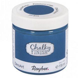 Chalky Finish paint pot 118 ml - Coelin blue