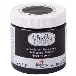 Chalky Finish paint pot 118 ml - Ebony