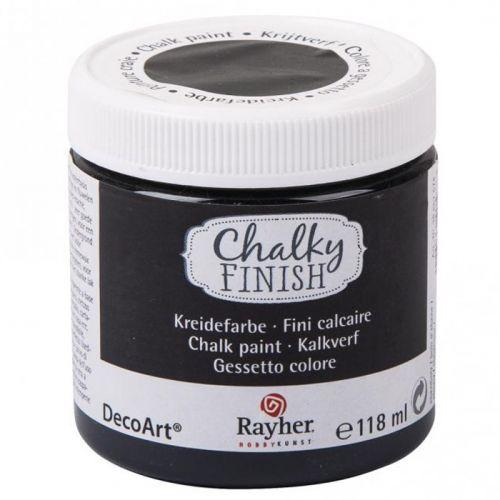 Chalky Finish paint pot 118 ml - Ebony