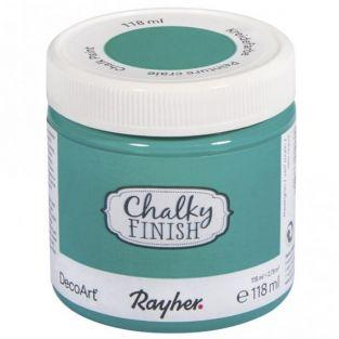 Chalky Finish paint pot 118 ml - Sea green