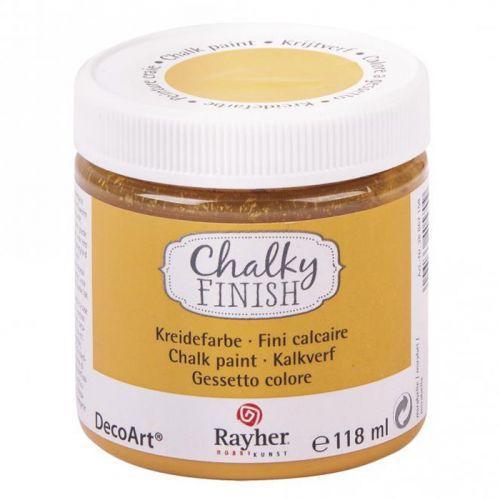 Chalky Finish paint pot 118 ml - Mirabelle orange