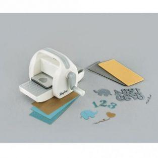 Mini punching & embossing device machine To Go 7,5 x 16,5 cm