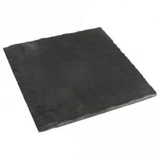 Square slate plate 20 x 20 cm