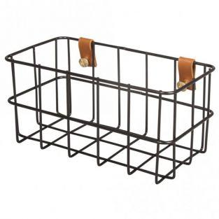 Wire Basket 16.5 x 8 x 8 cm - Black