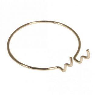 Porte-gobelet métallique Ø 10 cm - Doré