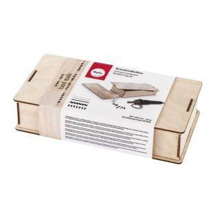 Set pirograbado - Caja de madera
