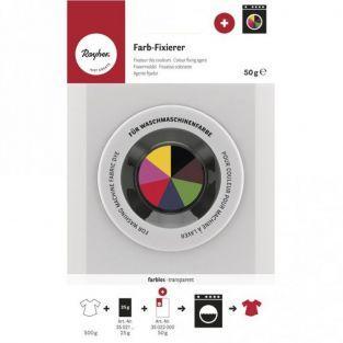 Agente fijador de color para lavadora - dosis para 500 g de tejido
