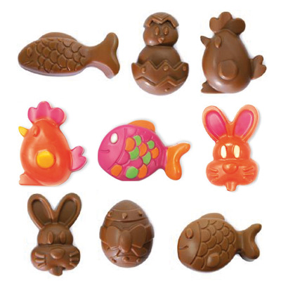 Des chocolats maison pour Pâques!