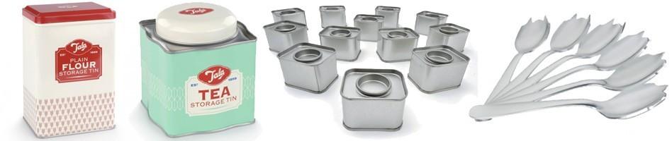Objetos metálicos - Cajas de acero inoxidable, aluminio